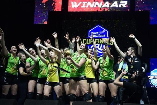 Coupe de Belgique de volley - Ostende conserve son titre chez les dames