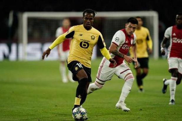 Coronavirus - Trois joueurs de Lille absents contre Mouscron car positifs au Covid-19