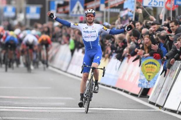 Exploit de Kasper Asgreen, vainqueur en solitaire de Kuurne-Bruxelles-Kuurne