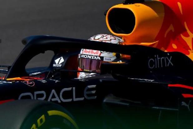 Verstappen le plus rapide de la troisième séance d'essais libres