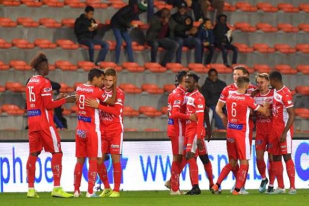 Jupiler Pro League - Mouscron se fait rejoindre par Zulte, La Gantoise 3e, première victoire d'Eupen