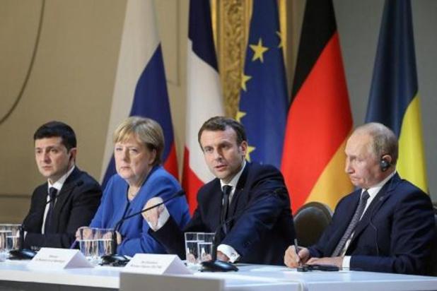 Conflict Oekraïne - Poetin en Zelenski komen tot akkoord over staakt-het-vuren in oosten van Oekraïne
