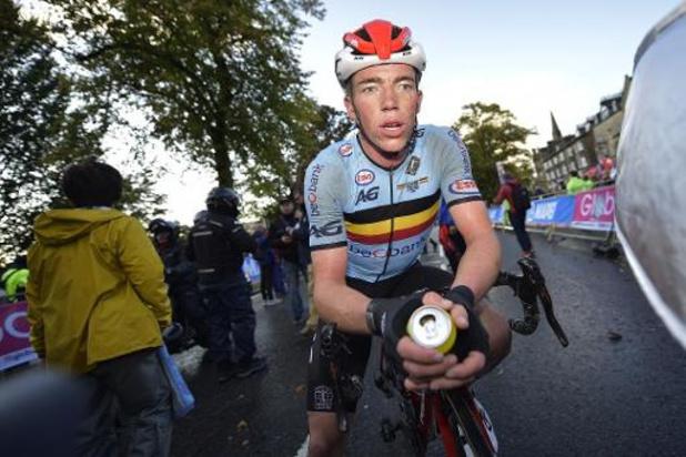 Mondiaux de cyclisme - Stan Dewulf s'attendait à mieux qu'une onzième place