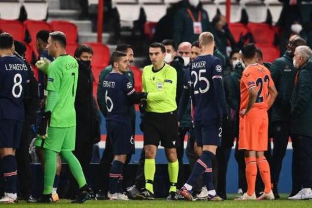 """Match PSG-Basaksehir interrompu - L'UEFA ouvre une """"enquête approfondie"""" après l'incident raciste du Parc des Princes"""