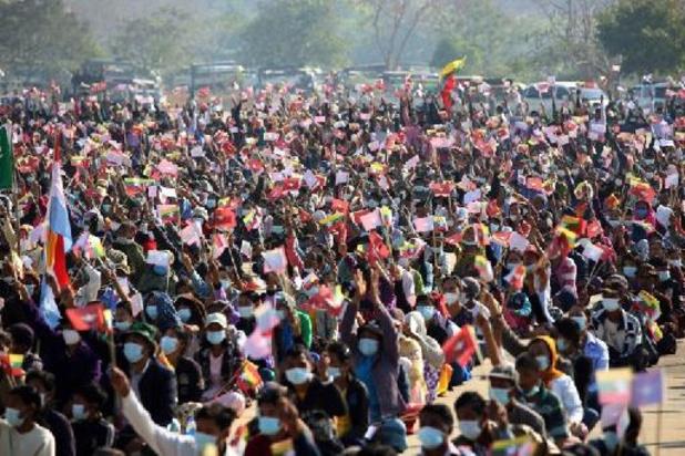 543 civils dont 44 mineurs tués depuis le coup d'Etat en Birmanie
