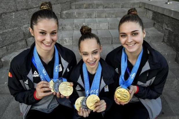 Cinq gymnastes acrobatiques belges mettent un terme à leur belle carrière