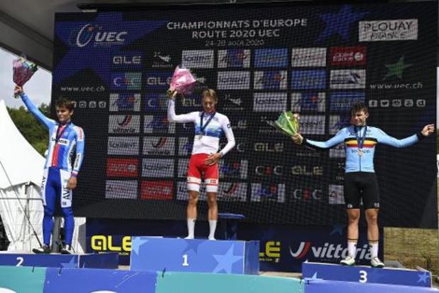 Médaille de bronze chez les juniors avec la 3e place d'Arnaud De Lie