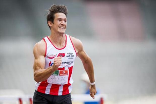 Thomas Van der Plaetsen en décembre à la Réunion en quête d'une qualification olympique
