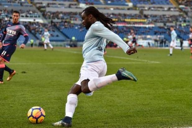 Les Belges à l'étranger - La Lazio, avec Jordan Lukaku en 2e période, s'incline à Lecce et voit le titre s'éloigner