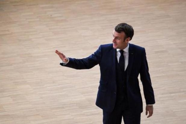 La confiance accordée à Macron en hausse