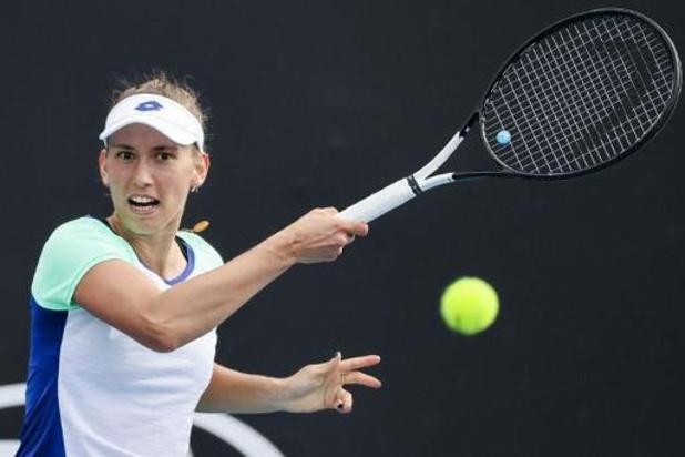 Elise Mertens au 2e tour du double