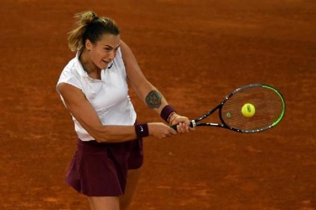 WTA Madrid - Aryna Sabalenka rejoint Ashleigh Barty en finale