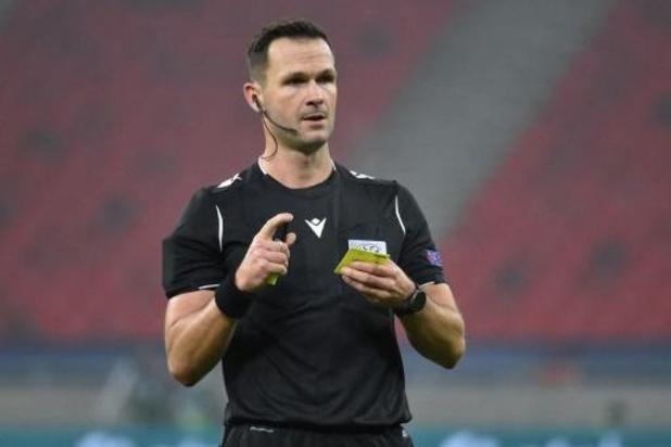 L'arbitre slovaque Ivan Kruzliak retrouve le Club de Bruges à Dortmund