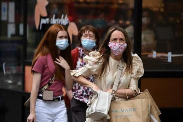Hoogste aantal besmettingen op één dag sinds januari in Groot-Brittannië