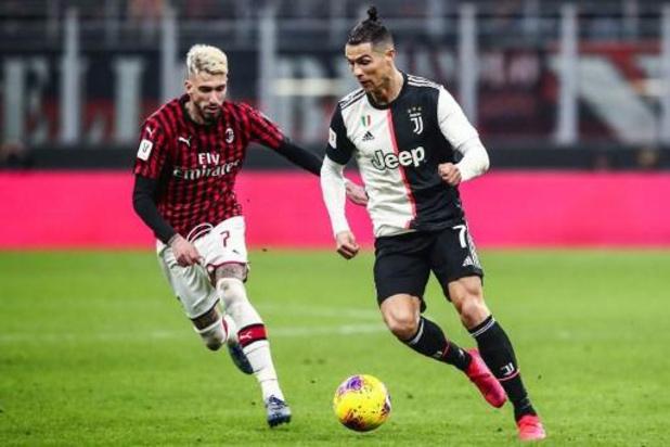 Les Belges à l'étranger - L'AC Milan et Saelemaekers partagent à la Juventus et manquent la finale de la coupe