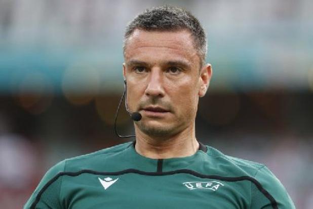 Le Slovène Vincic au sifflet pour le quart de finale des Diables Rouges contre l'Italie