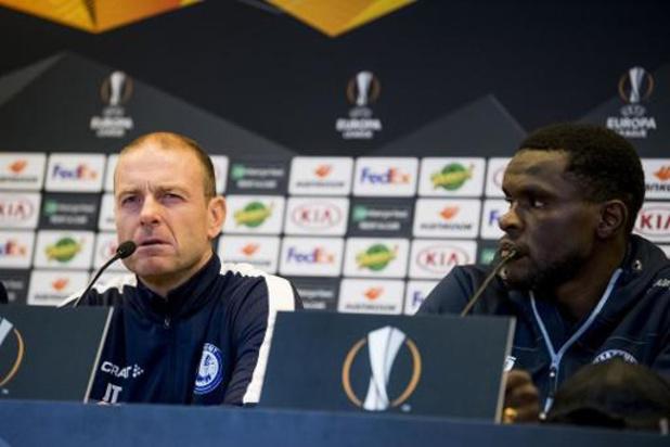 """Thorup, coach gantois: """"Nous sommes des sportifs de haut niveau, seule la victoire compte"""""""