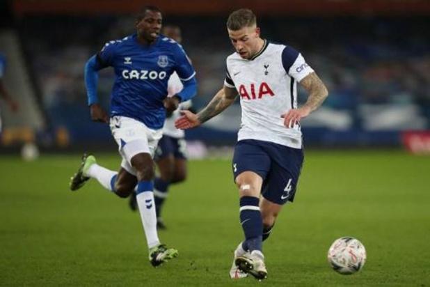 Les Belges à l'étranger - Everton élimine Tottenham 5-4 en huitièmes de finale de la Cup après un match fou