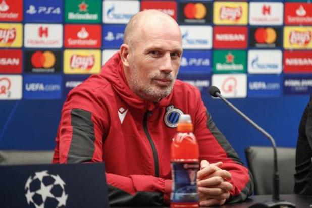 """Philippe Clement ziet Club Brugge mits zege """"grote stap richting derde plaats zetten"""""""