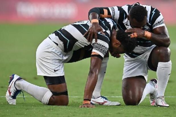 Les Fidji conservent leur titre olympique en rugby à 7