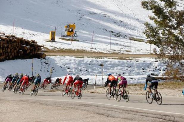Tour d'Italie - Contrôle antidopage anormal pour l'Italien Matteo Spreafico