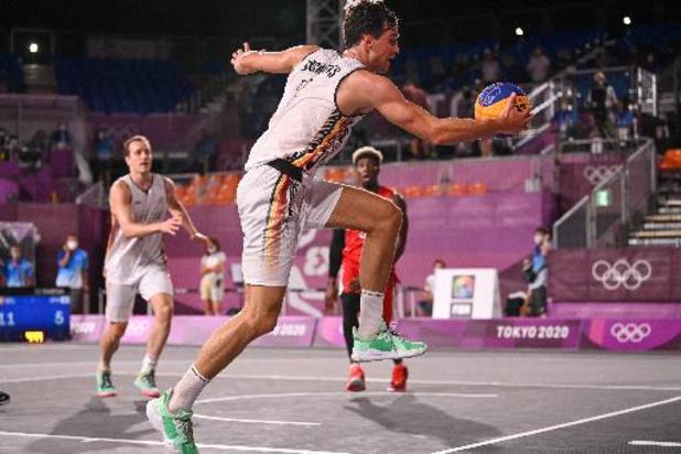 OS 2020 - Belgian Lions 3x3 verliezen vierde duel tegen Servië