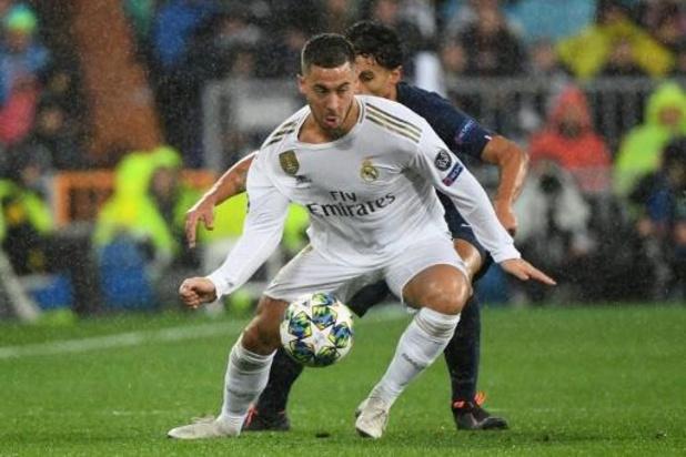 Les Belges à l'étranger - Eden Hazard de retour dans le onze de base du Real Madrid