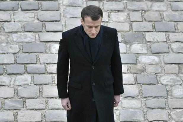 Macron zegt Griekenland en Bulgarije Franse solidariteit toe
