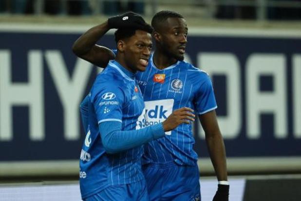 Jupiler Pro League - Une mi-temps suffit à La Gantoise pour venir à bout de Saint-Trond