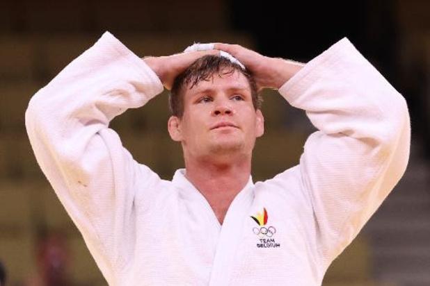 Judoka Matthias Casse verliest in halve finale van Japanner Nagase
