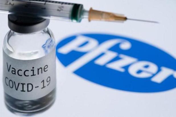 Quelque 255.000 doses de Pfizer livrées plus rapidement à la Belgique