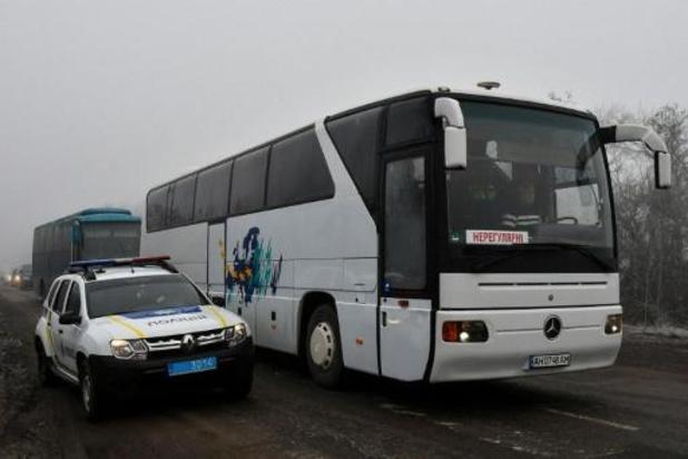 Début de l'échange de prisonniers entre Kiev et séparatistes prorusses