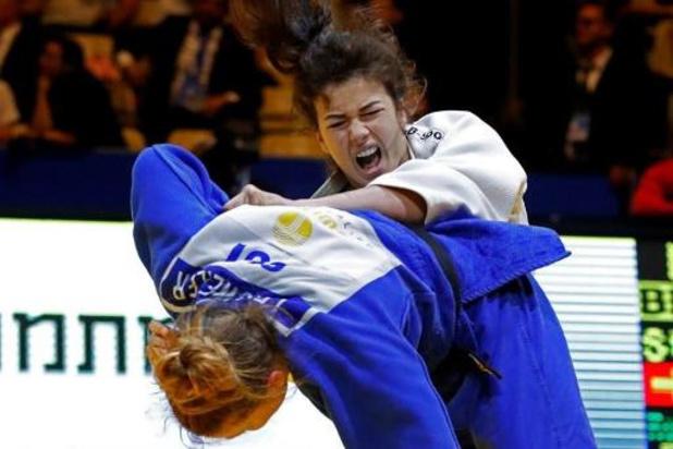 Gabriella Willems prend la porte d'entrée lors du Grand Chelem de judo de Budapest