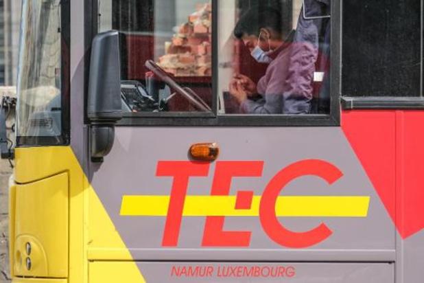 Le TEC augmentera la capacité de ses véhicules dès lundi