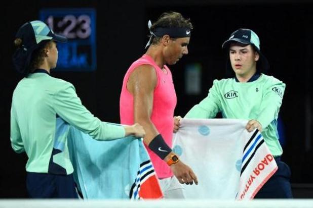 Indian Wells - Tennissers mogen vanwege coronavirus handdoek niet meer afgeven