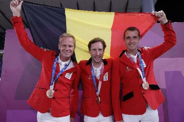 """JO 2020 - """"C'est toute la filière du jumping belge qui est mise à l'honneur avec cette médaille"""""""