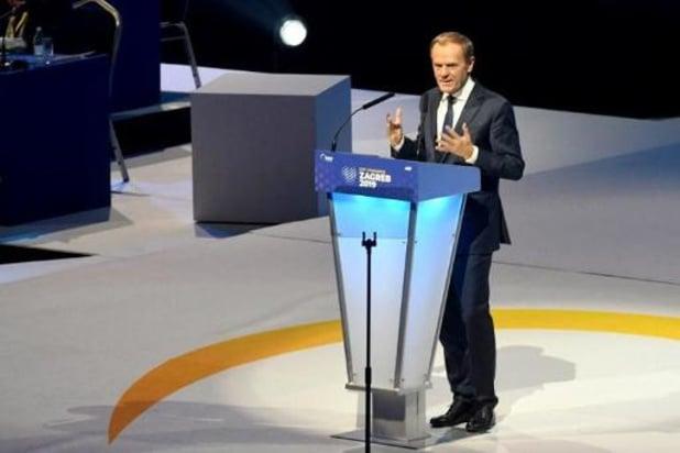 Nieuwe EVP-voorzitter Donald Tusk zet zich af tegen populisten