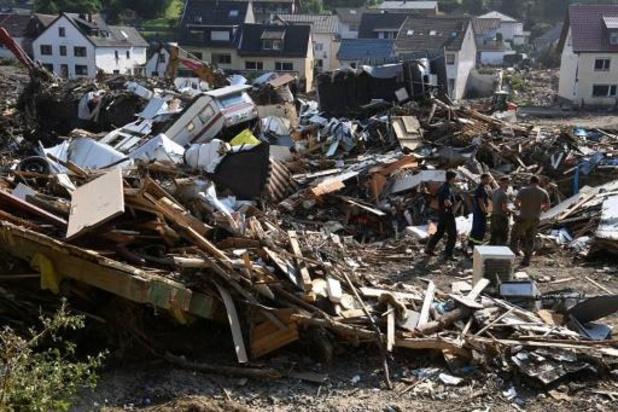 Stormweer bedreigt opnieuw West-Duitse rampgebieden