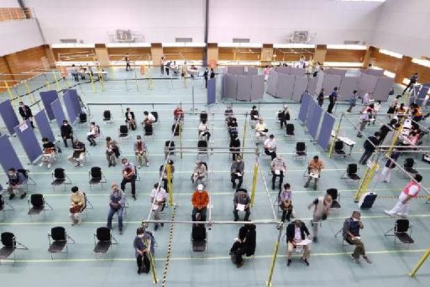 Ouverture des premiers vaccinodromes au Japon