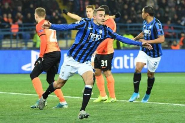 Castagne trapt debutant Atalanta naar achtste finales Champions League