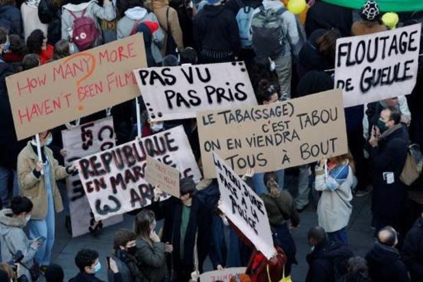 Marches des libertés: 500.000 manifestants en France