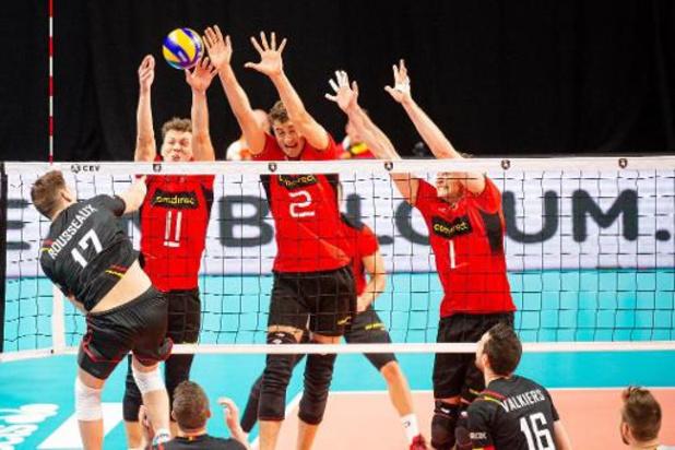 Euro de volley (m) - Tomas Rousseaux a vu les Red Dragons battre l'Allemagne au caractère