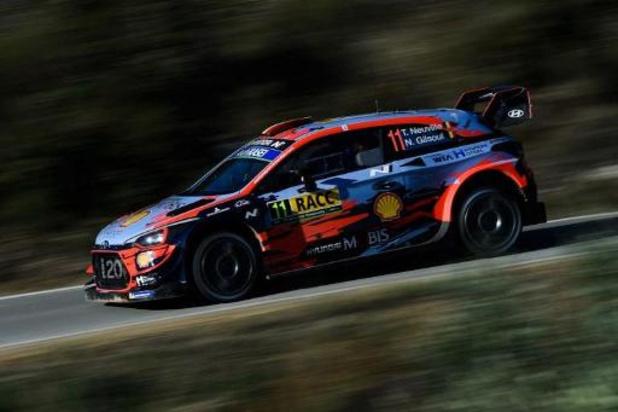 WRC - Rallye de Catalogne: Thierry Neuville solide leader à l'issue de la journée du samedi