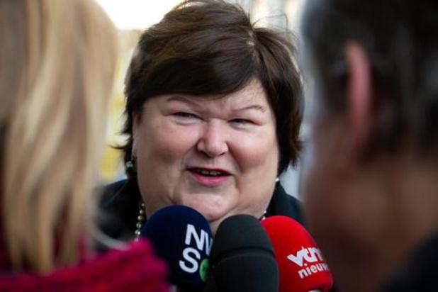 Budget des soins de santé: De Block soumettra une proposition au conseil des ministres la semaine prochaine