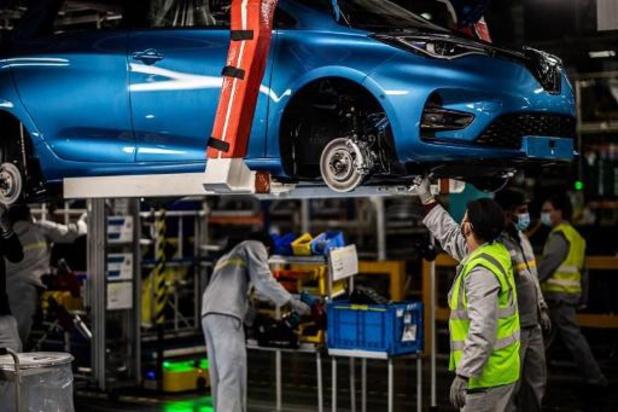 """Renault bouwt in Noord-Frankrijk """"grootste fabriek van elektrische wagens in Europa"""" uit"""
