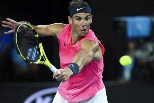 Rafael Nadal gaat voorbij Kyrgios naar kwartfinale