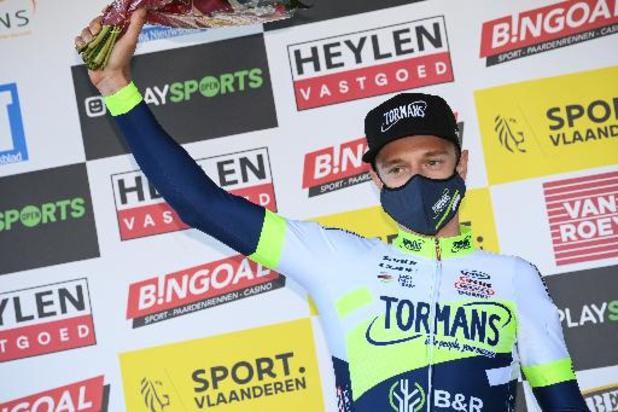 """Quinten Hermans is beste landgenoot op de 14e plek: """"Heb koers kunnen rijden zoals ik wou"""""""