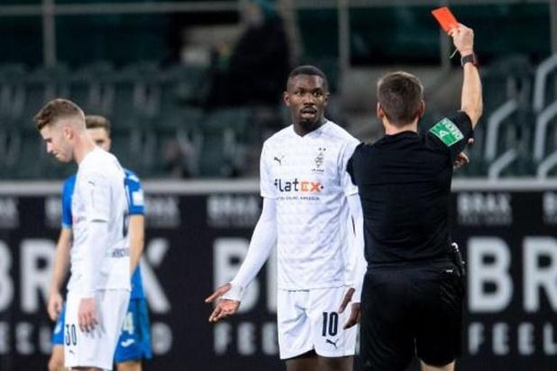 Bundesliga - Marcus Thuram riskeert lange schorsing na spuwincident