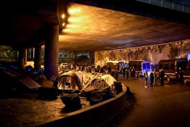 Nouvelle évacuation d'un campement de migrants à Paris