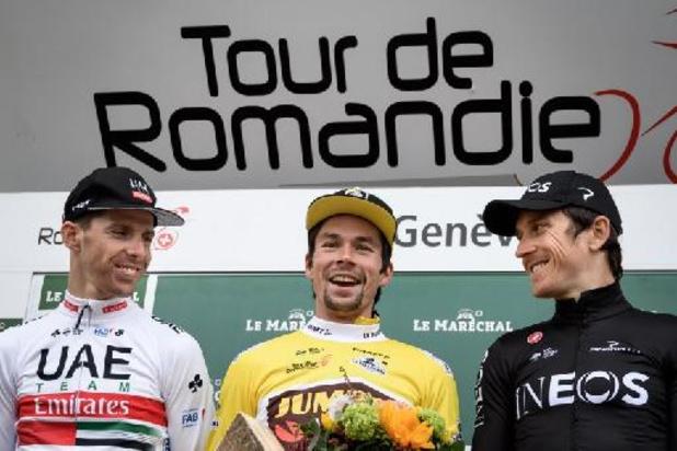 Wie volgt afwezige Roglic op in Ronde van Romandië?